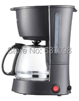 Bär kfj 403 Amerikanische kaffee maschine haushalt voll automatische tropf cafe maker 0.6L hause glas herd tee kaffee topf 110 220 240V-in Kaffeemaschine-Teile aus Haushaltsgeräte bei