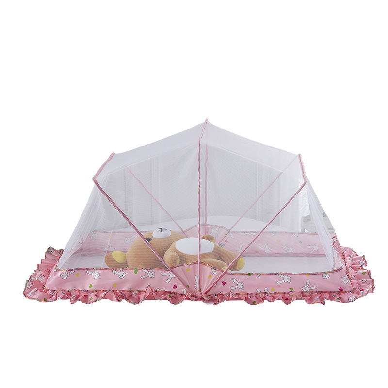 Portable Baby Crib Mosquito Net Tent Cradle Bed Infant Foldable Mosquito Netting For Kids Bed Babybett Mosquitera Cuna Universal