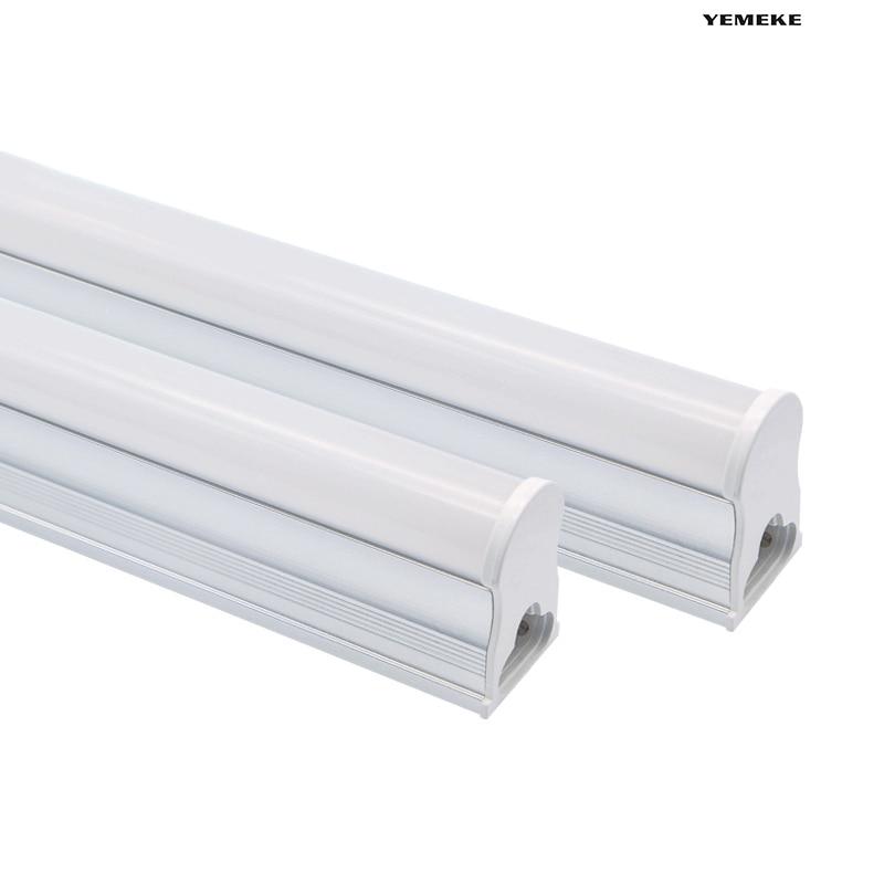 T5 LED Tube 29CM 57CM 220V~240V Fluorescent 30mm 60mm  Lamp 6W 10W Cold White Light Lampara Ampoule PVC Plastic