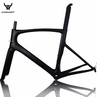 THRUST Carbon Road Bike Frame 2017 T1000 Black Road Bike Bicycle Frame 49 52 54 56