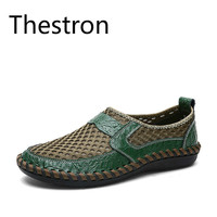 Thestron Sneakers Men Slip On Breathable Footwear Male Shoes Casual Plus Size 45 46 47 48 49 50 Summer 2018 Man Footwear 2018