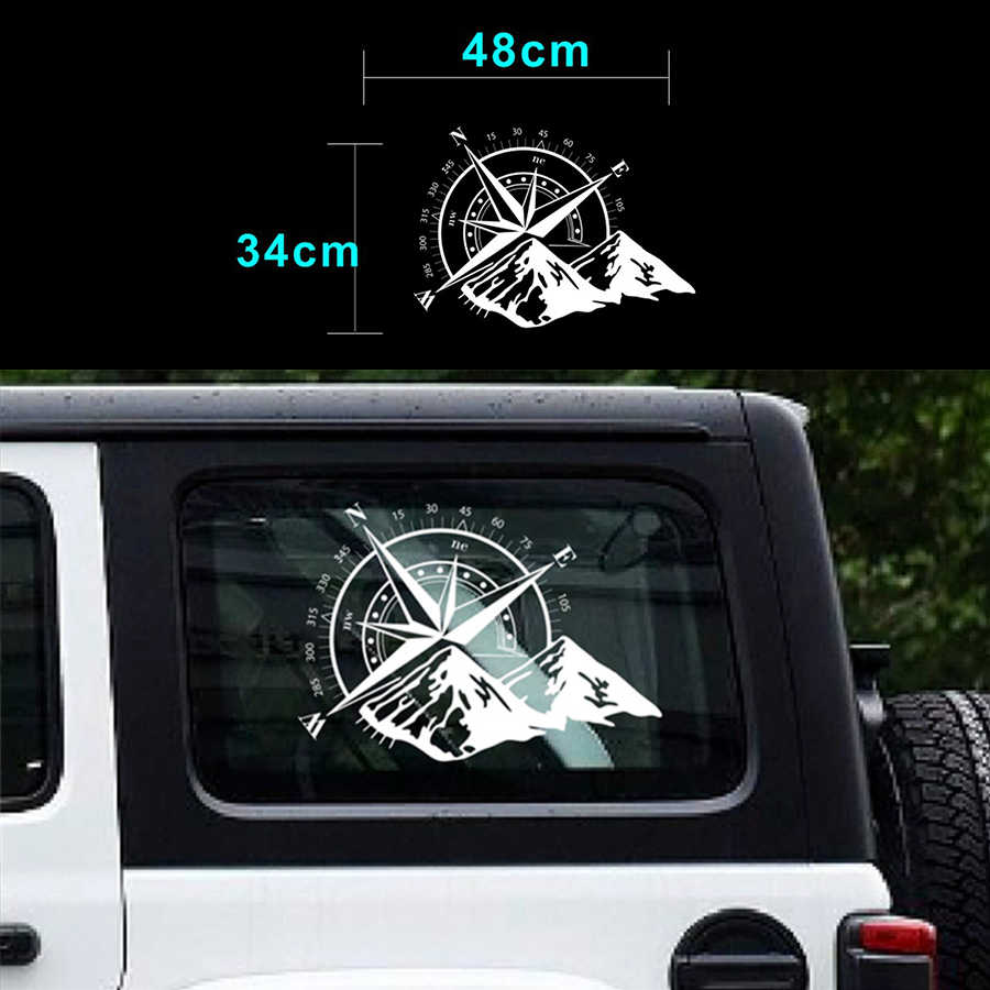 Detail feedback questions about white car sticker compass mountain car hood graphic decal auto vinyl sticker universal on aliexpress com alibaba group