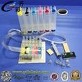 T0851 ciss sistema de tinta para epson stylus photo 1390 r330 a granel con sistema de Reset Chip + 500 ML de tinta Eco Solvente/Color