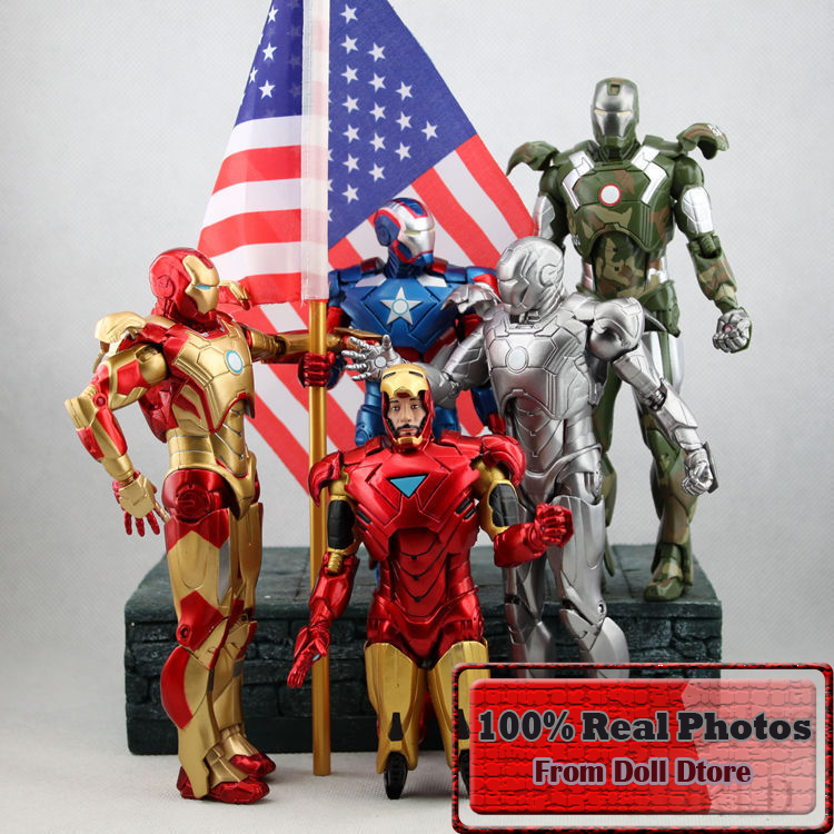 18cm high quality anime figure The Avengers Iron Man action figure kids toys for boys фигурка planet of the apes action figure classic gorilla soldier 2 pack 18 см