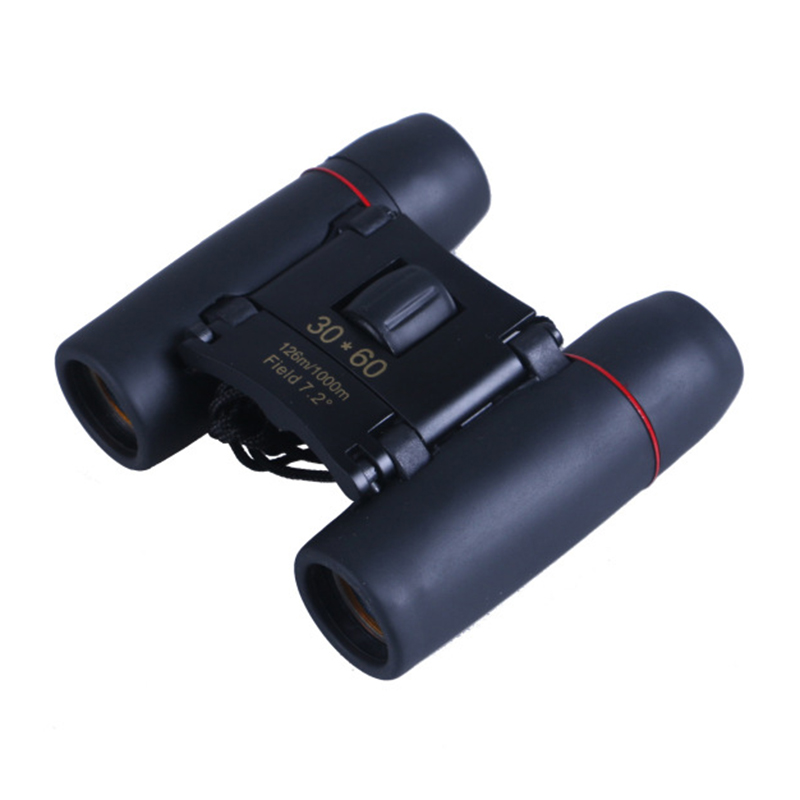 Outdoor Travel 30 x 60 Telescope Hunting Optics For Camping Hiking Spotting Scopes Day Night Vision Binoculars With Carry Bag