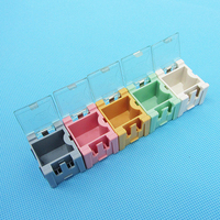 Best 50 Pcs SMD SMT Electronic Parts Mini Storage Box High Quality And Practical Jewelry Storaged