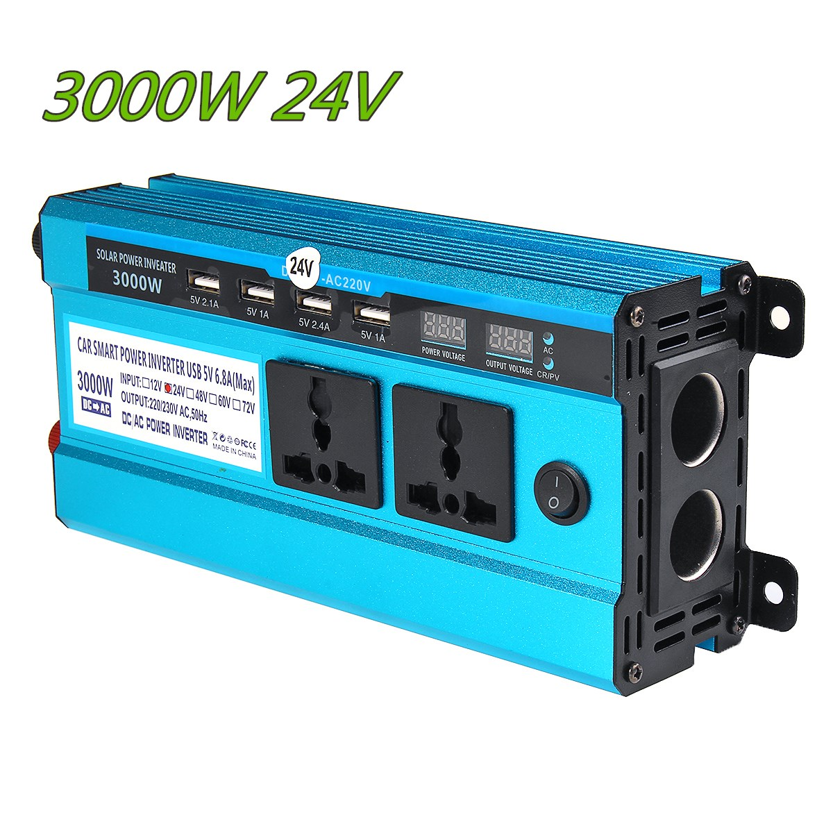Solar Inverter DC 12V 24V 48V to AC 220V 3000W 4000W 5000W Inverter 17