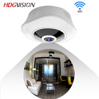 HDGVISION HD 1 3MP 3 0MP FishEye Two Way Intercom IP Camera VR Smart 360 Network