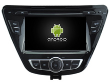 Android CAR Audio DVD player gps FOR HYUNDAI ELANTRA 2014 Multimedia navigation head device unit receiver