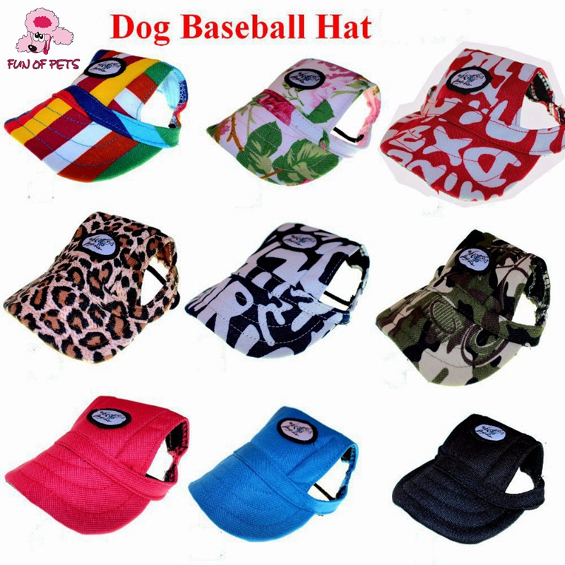 Cute Tailup Chihuahua Summer Sun Pet Cat Dog Accessories Dog Hat Cap - Pet Products