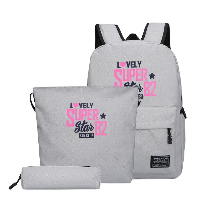 Light fashion ladies shoulder bag large capacity outdoor travel backpack trend Joker student