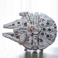 LEPIN 05132 New Millennium Falcon 8445pcs Compatible with 75192 Star Plan Series Ultimate Collector's Model Building Bricks Toys