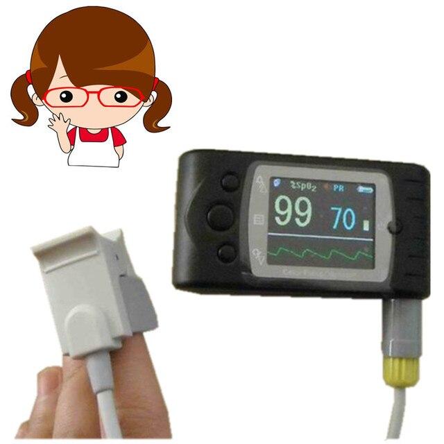 CMS 60C pediatric SPO2 monitor Handheld Health Medical Pulse Oxygen  Saturation Test child Monitor Oximeter USB