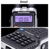 vhf uhf BF-UVB2PLUS VHF / UHF Dualband 136-174 / 400-520MHZ שתי דרך מכשיר קשר רדיו FM (5)