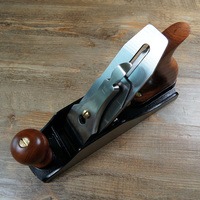 High grade 4 # woodworking planer,European style metal planing,carving hand tools