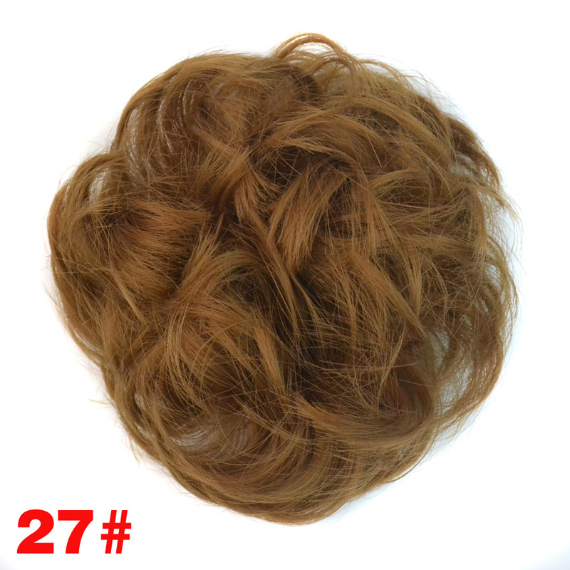 jeedou Σγουρό κουμπόν με καουτσούκ - Συνθετικά μαλλιά - Φωτογραφία 5