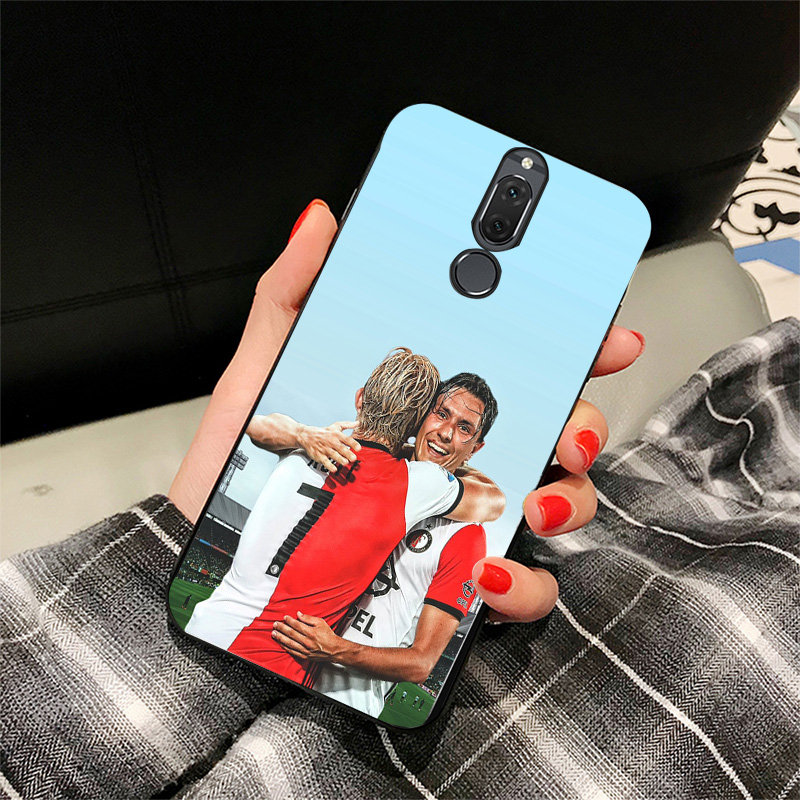 Yinuoda Phone Case For Feyen Rotterd FC Huawei P9 lite P10 Black Soft TPU DIY Case For P8 lite 2017 mate 10 P30 NOVA lite 2017 in Half wrapped Cases from Cellphones Telecommunications