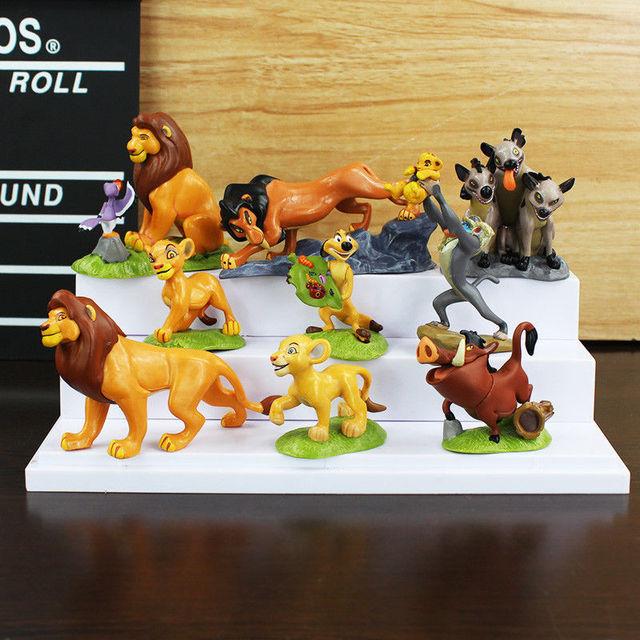 9 Stucke New Der Konig Der Lowen Lion Schutz Action Figur Spielset