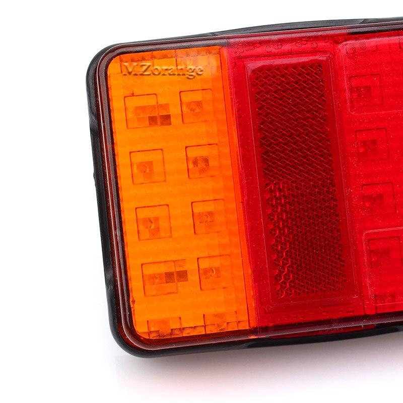 Светодиодные герметичные фонари для лодочного прицепа
