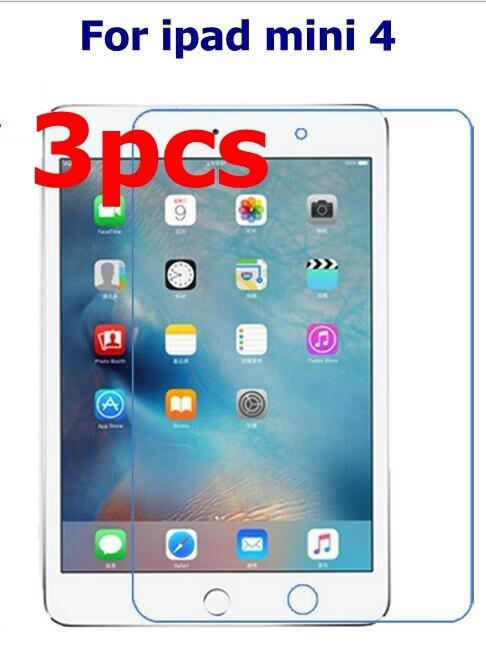 3pcs/lot For Apple iPad Mini 4 Clear Soft Screen Protector Front LCD Screen Guard Protective Film For iPad Mini4