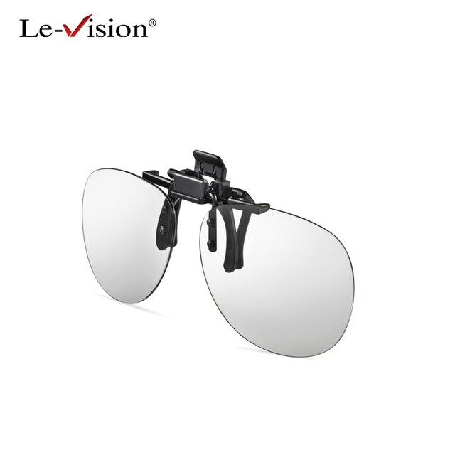 Le-Vision 3D Clip Op Glazen Passief RealD IMAX Rood Blauw Cyaan Voor Circulair Gepolariseerde Bril 3D Film/Cinema/Movie Clip op Glasse