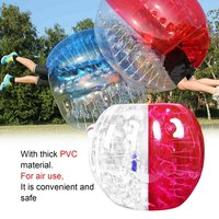 Human Knocker 0.8mm Thickness Inflatable Bubble Buffer Balls Bumper Soccer Zorb Ball For Adult Outdoor Activity Running Game