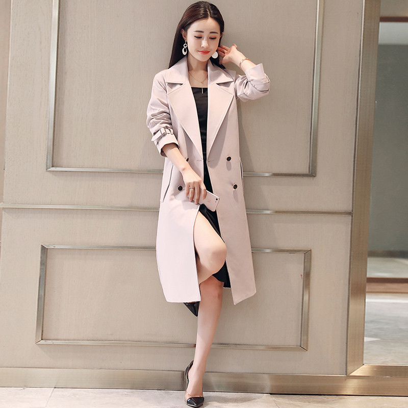 ornage pink Pour navy Automne Slim Mi Longue Black Coffee Tranchée Taille 4xl Mujeral1235 Casual Plus Treanch Manteau 3xl Invierno Red Femmes Chaquetas Teaegg Elagant light red Printemps PYABRqwnSx