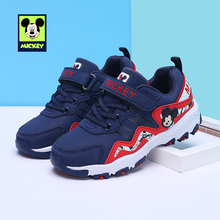 Disney children s casual shoes Mickey Sports fashion casual boys shoes slip  wear breathable running shoes kids dbdb74037a53