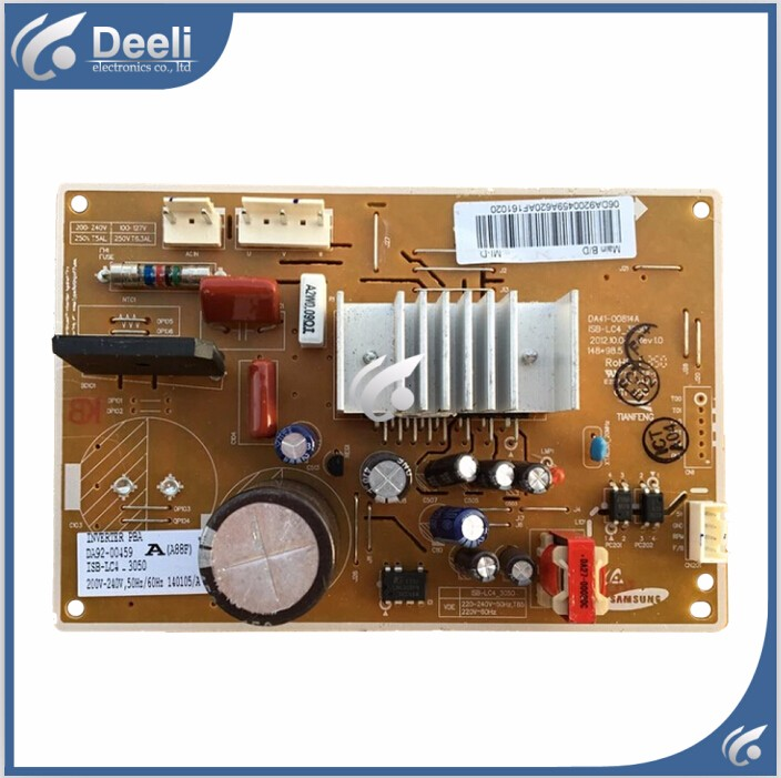 good working for refrigerator computer board power module DA41-00814A DA92-00459A board used good working for embraco refrigerator pc board computer board used bcd 558wa bcd 558wyjz 0064001350 frequency conversion board