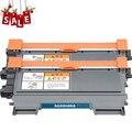 Горячая 2X TN450 TN420 TN2060 TN2260 TN2280 TN2215 TN2225 тонер-картридж для Brother HL-2250DN DCP-7057 факс-2890 MFC-7860DN