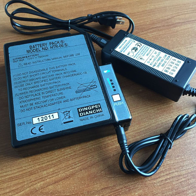 Original Japan Fujikura Fsm 50s 50R Fiber Optic Fusion Splicer Battery Fujikura BTR 06S Fusion Splicer