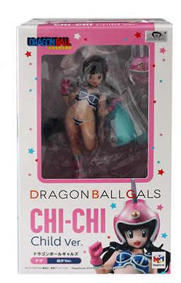 Chichi Cheongsam Criança Bola Dragão Anime Japonês Figuras de Ação & Toy Figuras Pvc Coleção Modelo Para Presente de Natal/aniversário