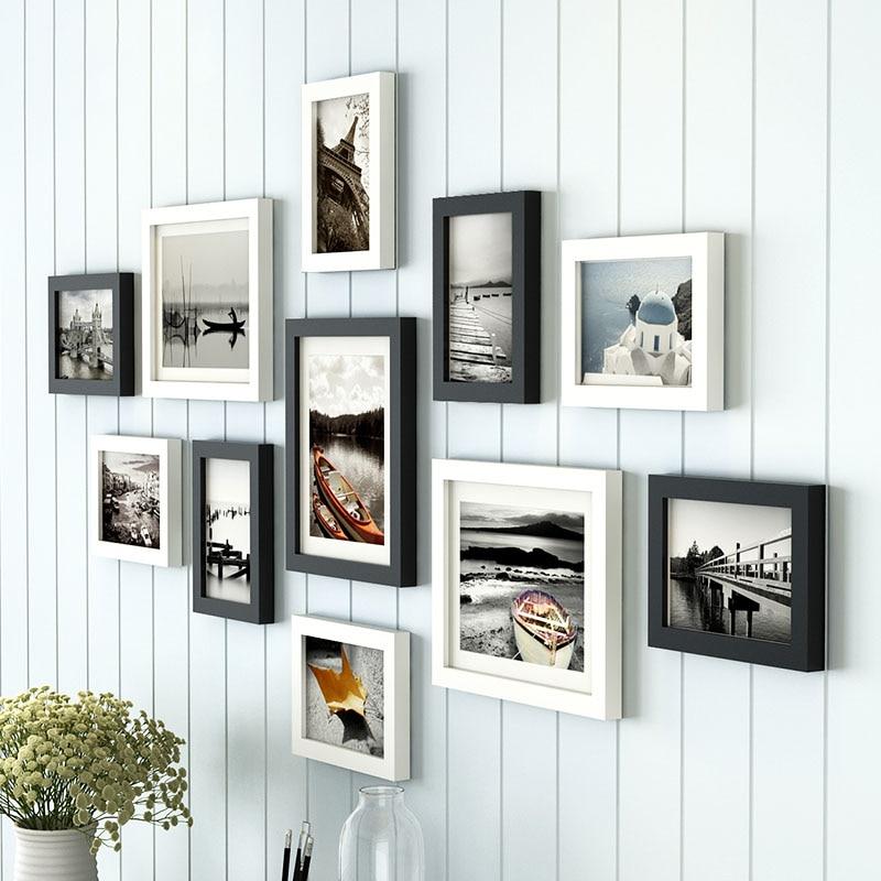 11 teile/los Holz Multi Foto Rahmen Bilderrahmen Wand Hängen Collage ...