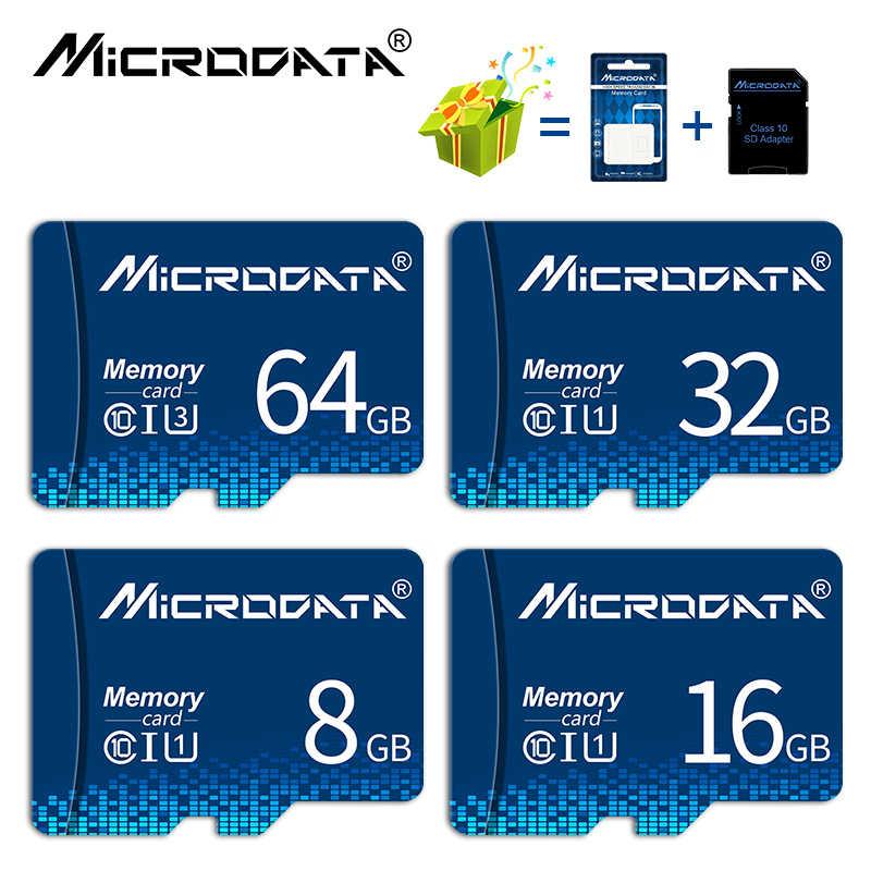 Class10 128 Гб 64 ГБ Памяти SDXC 32 Гб Карта памяти SDHC 16 ГБ/8 ГБ/4 Гб микро sd карты TF карты памяти флэш-памяти Microsd с sd-адаптер в качестве подарка