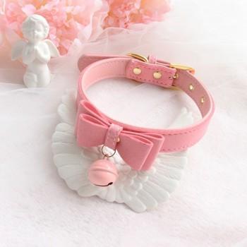 handmade PU collar