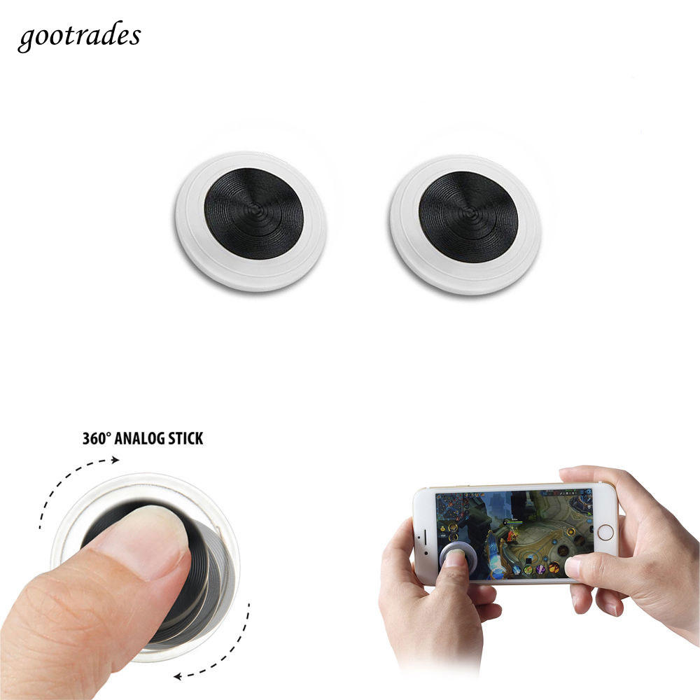 1 Pcs Ultra-thin Mini Game Controller Mobile Joystick V3 For Smart Phone Tablet Ipad