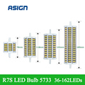 2016 New Bulb Light R7S LED Corn Light 5733 SMD LED Corn Lamp AC220V-240V 36  81  99 162LEDS Corn Lamp