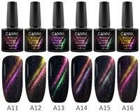 #70511 CANNI 3D Cat Eye New Product Nail Art Design Nail Gel Polish New 7.5ml Soak Off Gel Varnish UV/LED Color Gel