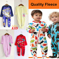Cartoon Pattern Fleece Romper Quality Plush Jumpsuit Infants Uyku Tulumu Pijama Blanket Pajamas Kids Rompers Sleepwear KD292