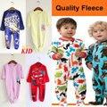 Patrón de dibujos animados de Lana Calidad de la Felpa de Los Bebés Mono Mameluco Uyku Tulumu Manta Pijama Pijama Niños ropa de Dormir de Los Mamelucos KD292