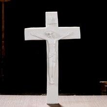 Христос христианский с изображением католической святыни распятие Керамическая подвеска украшения Декор подарок домашний интерьер дух Иммануэль ягненок Божий крест