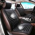 12 В искусственная кожа вентилятор охлаждения Автомобиля seat covers, универсальный охлаждает автомобильные аксессуары поставок, лето любителей подушки сиденья автомобиля