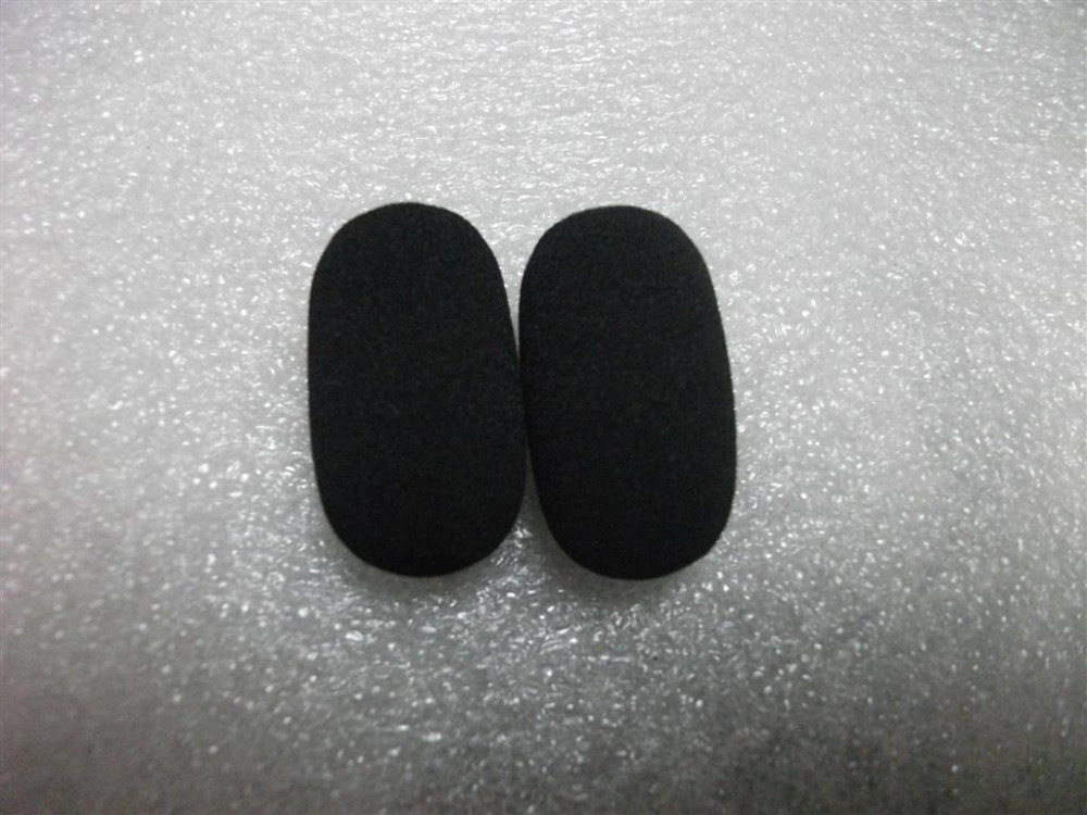 10mm Quality Foam Microphone Windshield For LightSPEED Headsets 10pcs/lot Free Shipping