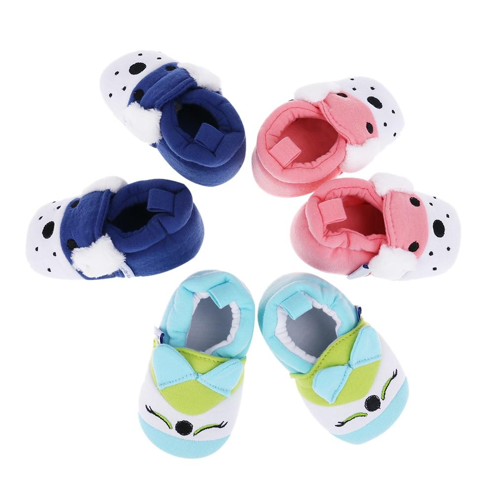 Shoes Toddler Prewalkers Non-Slip Soft-Bottom Baby-Boy-Girls Cartoon Fashion Cloth Cotton