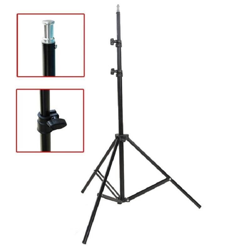 High Quanlity 240cm 7.8ft PRO Light Lamp Stand Tripod for Photo Studio Video Flash Umbrellas Reflector Lighting Free Shipping