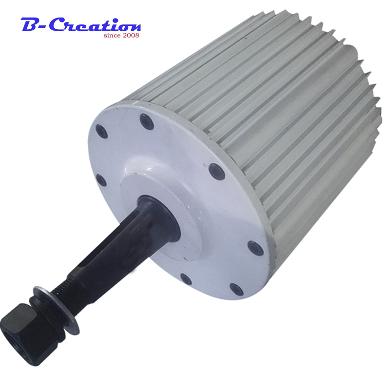2kw 48/96/110/220v AC low rpm permanent magnet generator 220V for home use