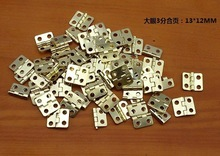 100pcs Mini Cabinet Drawer Butt Hinge(Size:13mm*12mm)