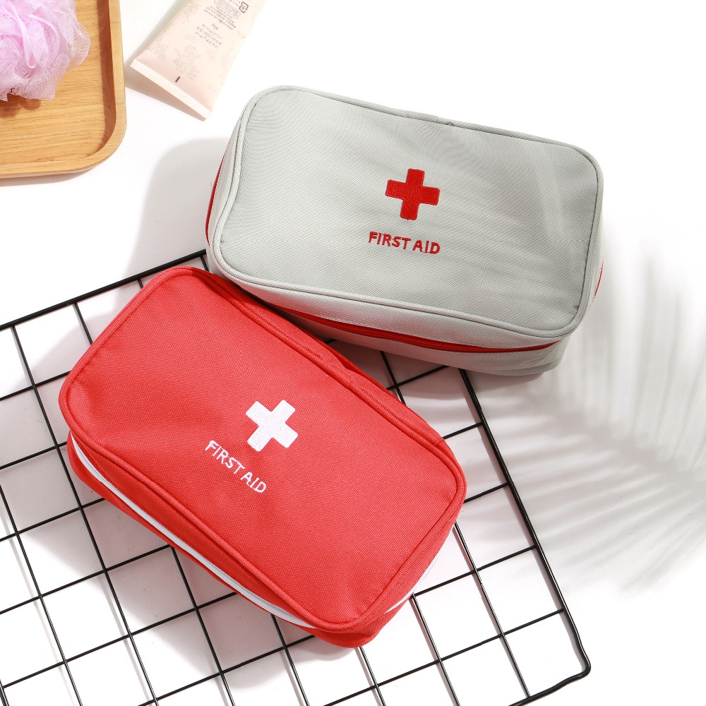 New Portable First Aid Emergency Medical Kit Survival Bag Medicine Storage Bag Travel Outdoor Sport Camping Tool