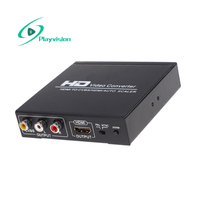 Hdmi to Hdmi and Cvbs Video Converter Support Ntsc and Pal Two Standard TV Formats Applied
