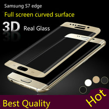 Mocolo 3D Curved Full Cover 9H Tempered Glass Screen Protector For Samsung Galaxy S7 Edge g9350